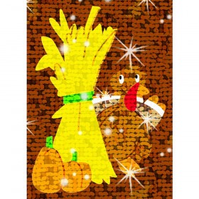 Fabulous Fall Sparkle Stickers® – Large