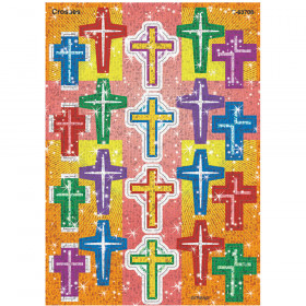 Crosses Sparkle Stickers® – Large