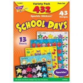 School Days Sparkle Stickers® Variety Pack
