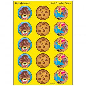 Lots of Chocolate/Chocolate Stinky Stickers® – Large Round