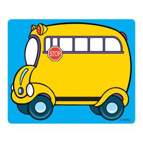 School Bus Terrific Labels, 36 ct