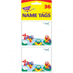 Fun Frogs Name Tags