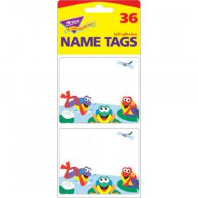 Fun Frogs Name Tags