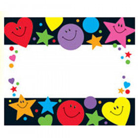 Stars Hearts And Smiles Name Tags