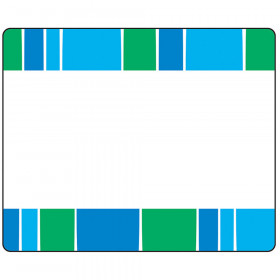 Stripe-tacular Cool Blue Terrific Labels™