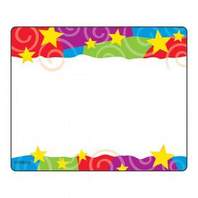 Stars 'n Swirls Terrific Labels, 36 ct