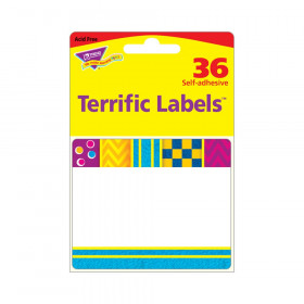 Snazzy Terrific Labels, 360 ct