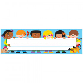 TREND Kids Desk Toppers Name Plates, 36 ct