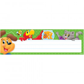 Playtime Pal Desk Toppers Nameplate Bold Toppers Variety 36Ct