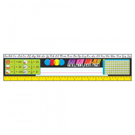 Grades 3-5 Modern Desk Toppers Ref. Name Plates, 36 ct