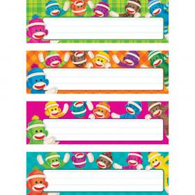 Sock Monkeys Desk Toppers® Name Plates Variety Pack