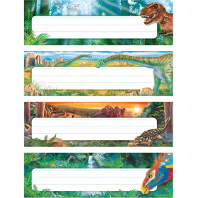 Discovering Dinosaurs™ Desk Toppers® Name Plates Variety Pack