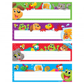 Playtime Desk Name Plate Variety Pk Pals 32Ct