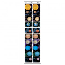 Planets and Sun Applause STICKERS, 100 ct.