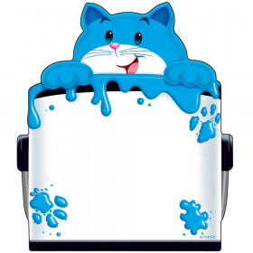 Curious Color Cat Note Pad-Shaped