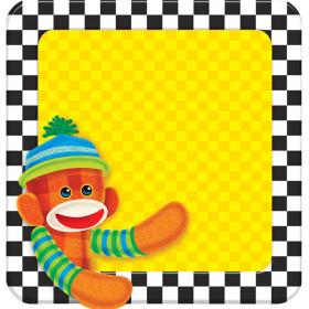 Sock Monkeys Note Pad – Shaped