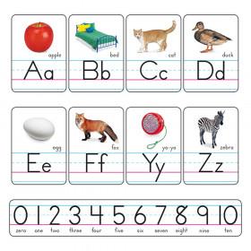 Photo Alphabet Cards Zaner-Bloser Manuscript Bulletin Board Set