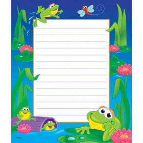 Note Pad Frog Pond