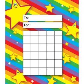 Stars Incentive Pad, 36 sheets