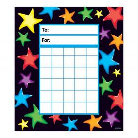 Gel Stars Incentive Pad, 36 sheets