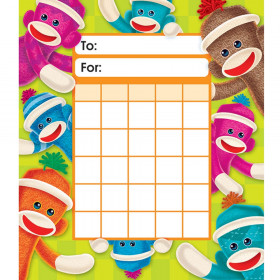 Sock Monkeys Incentive Pad