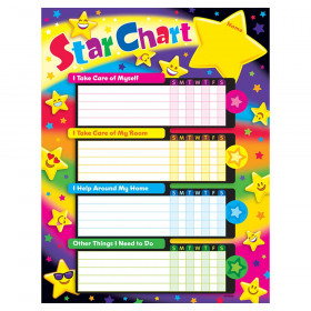 Emoji Stars Success Charts, 25 ct