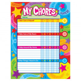 Praise Words 'n Stars Success Charts/Chore Charts