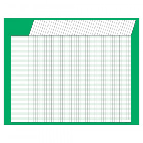 "Green Horizontal Incentive Chart, 22"" x28"""