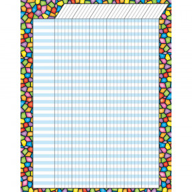 Stained Glass Vertical Incentive Chart – Jumbo