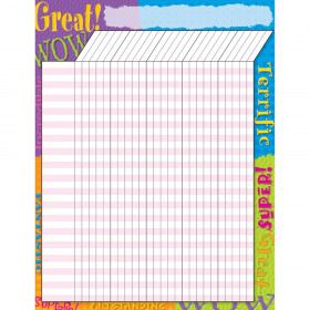 Praise Words Incentive Chart – Large