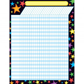 Gel Stars Incentive Chart – Large