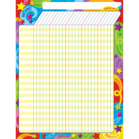 Praise Words 'n Stars Incentive Chart – Large