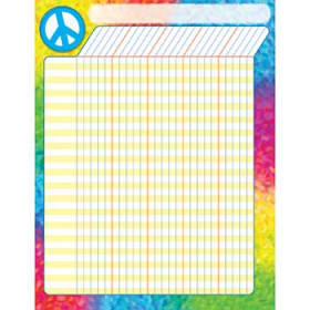 Peace Sign Incentive Chart Large