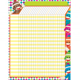 Sock Monkeys Incentive Chart – Large