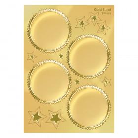 Gold Burst Award Seals Stickers, 32 ct.