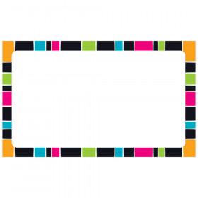 Stripe-tacular Groovy Blank Terrific Index Cards™