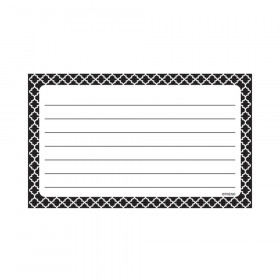Moroccan Black Lined Terrific Index Cards™