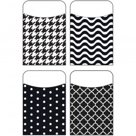 Black & White Terrific Pockets™ Variety Pack