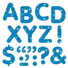 Blue Sparkle 2-Inch Letters & Marks STICK-EZE® Stick-On Letters
