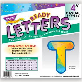 Color Splash 4 Ready Letters