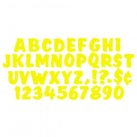 Ready Letters 4 Inch Splash Yellow