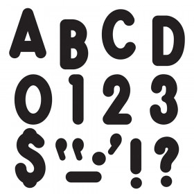 Black 7-Inch Billboard Uppercase (EN/SP) Ready Letters®