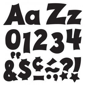 Black 4-Inch Friendly Uppercase/Lowercase Combo Pack (EN/SP) Ready Letters