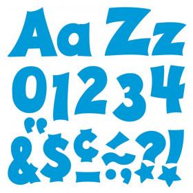 Blue 4-Inch Friendly Uppercase/Lowercase Combo Pack (EN/SP) Ready Letters