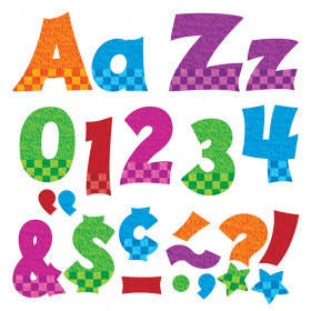 """Snazzy 4"""" Friendly Combo Ready Letters"""