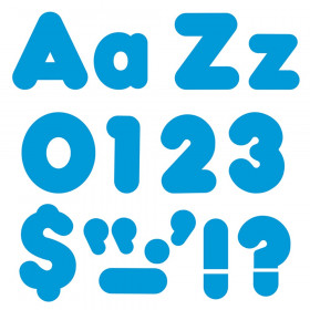 """Blue 4"""" Casual Combo Ready Letters"""