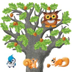 Big Oak Tree Bulletin Board Set