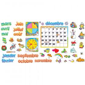 Calendrier mensuel (FR) Bulletin Board Set