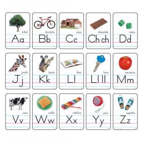 Cartas del abecedario con fotos Manuscrito ZB (SP) B.B. Set