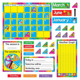 Year Around Calendar Bulletin Board Set